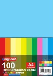 Bigpoint - Bigpoint A4 Renkli Fotokopi Kağıdı 10 Renk 100'lü Paket