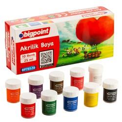 Bigpoint - Bigpoint Akrilik Boya 10 Renk x 25 ml