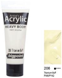 Bigpoint - Bigpoint Akrilik Boya 75 ml Titanium Buff 206