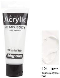 Bigpoint - Bigpoint Akrilik Boya 75 ml Titanium White 104