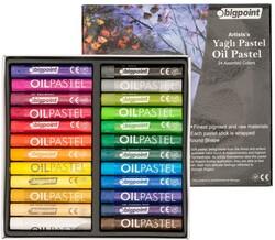Bigpoint - Bigpoint Artists's Yağlı(Oil) Pastel Boya 24 Renk