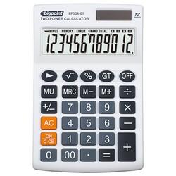 Bigpoint - Bigpoint BP504-01 Hesap Makinesi 12 Hane Beyaz