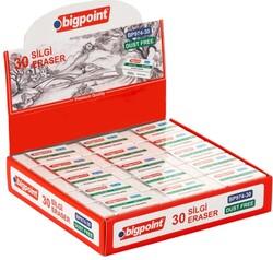 Bigpoint - Bigpoint BP974-30 Dust-Free Silgi Beyaz - Orta Boy - 30 lu