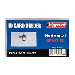 Bigpoint - Bigpoint İğneli Yaka Kartı 90x54mm 50'lik