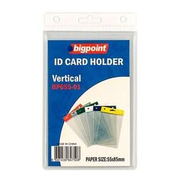 Bigpoint - Bigpoint Kart Poşeti Dikey Beyaz 55x85mm
