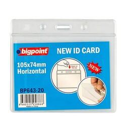 Bigpoint - Bigpoint Kart Poşeti Yatay 105x74mm