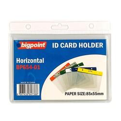 Bigpoint - Bigpoint Kart Poşeti Yatay Beyaz 85x55mm