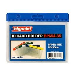 Bigpoint - Bigpoint Kart Poşeti Yatay Mavi 85x55mm