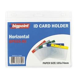 Bigpoint - Bigpoint Kart Poşeti Yatay Şeffaf 105x74mm