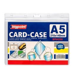 Bigpoint - Bigpoint Kilitli Kart Poşeti Yatay A5 (210x148mm)