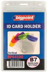 Bigpoint - Bigpoint Korumalı Kart Poşeti Dikey B7 (91x128mm)