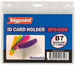 Bigpoint - Bigpoint Korumalı Kart Poşeti Yatay B7 (128x91mm)