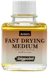 Bigpoint - Bigpoint Kuruma Hızlandırıcı Medyum 75 ml (Yağlı Boya)