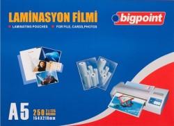Bigpoint - Bigpoint Laminasyon Filmi A5 125 Mikron 100 Lük