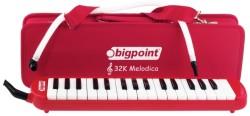 Bigpoint - Bigpoint Melodika 32 Tuşlu Kırmızı