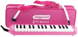 Bigpoint - Bigpoint Melodika 32 Tuşlu Pembe