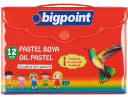 Bigpoint - Bigpoint Pastel Boya 12 Renk Çantalı