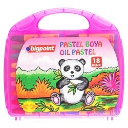 Bigpoint - Bigpoint Pastel Boya 18 Renk - Pembe Çantalı