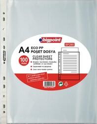 Bigpoint - Bigpoint Poşet Dosya Eco 30 Mikron 100'lü Paket