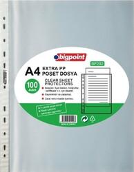 Bigpoint - Bigpoint Poşet Dosya Extra 50 Mikron 100'lü Paket