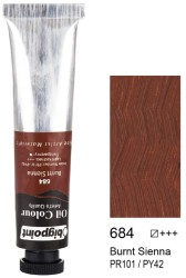 Bigpoint - Bigpoint Yağlı Boya 200 ml Burnt Sienna 684