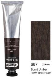 Bigpoint - Bigpoint Yağlı Boya 200 ml Burnt Umber 687