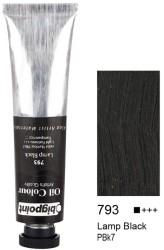 Bigpoint - Bigpoint Yağlı Boya 200 ml Lamp Black 793