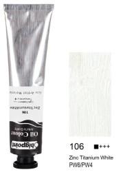 Bigpoint - Bigpoint Yağlı Boya 200 ml Zinc Titanium White 106