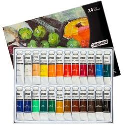 Bigpoint - Bigpoint Yağlı Boya Seti 12 ml Tüp x 24 Renk