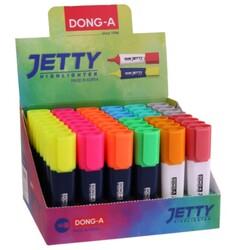 Dong-A - Dong-A Jetty Fosforlu Kalem Karton Stand 48 Li