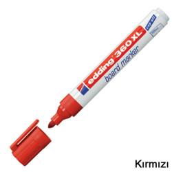 Edding - Edding 360XL Beyaz Yazı Tahtası Kalemi Kırmızı