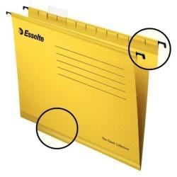 Esselte - Esselte 9031 Pendaflex Ekonomi Askılı Dosya Sarı - 25 li Paket