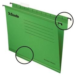 Esselte - Esselte 9031 Pendaflex Ekonomi Askılı Dosya Yeşil - 25 li Paket