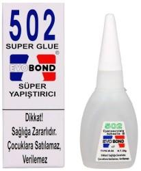 Evobond - Evobond 502 Süper Yapıştırıcı 20 gr