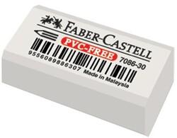 Faber Castell - Faber-Castell 7086/30 Beyaz Silgi PVC-Free