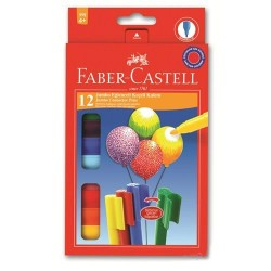 Faber Castell - Faber-Castell Eğlenceli Jumbo Keçeli Kalem 12 Renk