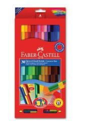 Faber Castell - Faber-Castell Eğlenceli Keçeli Kalem 30′lu