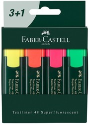 Faber Castell - Faber-Castell Fosforlu Kalem 3+1