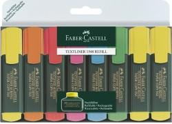 Faber Castell - Faber-Castell Fosforlu Kalem 6+2 li Poşet