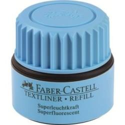Faber Castell - Faber-Castell Fosforlu Mürekkebi Mavi