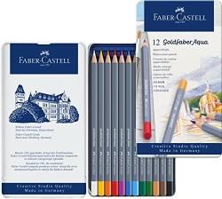 Faber Castell - Faber-Castell Goldfaber Aqua Boya Kalemi 12li
