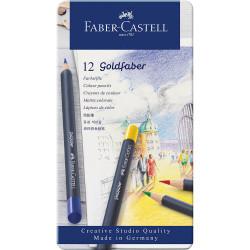 Faber Castell - Faber-Castell Goldfaber Boya Kalemi 12li