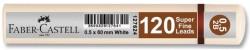 Faber Castell - Faber-Castell Grip Min 0.5 2B 60mm 120'li Beyaz Tüp