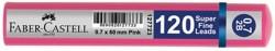 Faber Castell - Faber-Castell Grip Min 0.7 2B 60mm 120'li Pembe Tüp