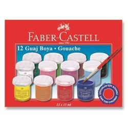 Faber Castell - Faber-Castell Guaj Boya 12 Renk