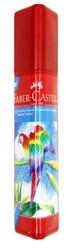 Faber Castell - Faber-Castell Kuru Boya 12 Renk Tam Boy Üçgen Plastik Tüp