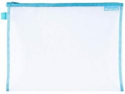 Faber Castell - Faber-Castell Mesh Dosya B5 Mavi