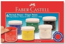 Faber Castell - Faber-Castell Parmak Boyası 25 ml. 6 Renk