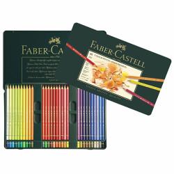 Faber Castell - Faber-Castell Polychromos Kuru Boya Kalemi 60 Renk