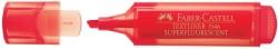 Faber Castell - Faber-Castell Şeffaf Gövde Fosforlu Kalem 1546 Kırmızı